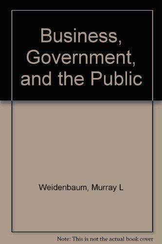 9780130993427: Business, Government, and the Public