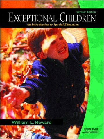 9780130993441: Exceptional Children: An Introduction to Special Education (7th Edition)