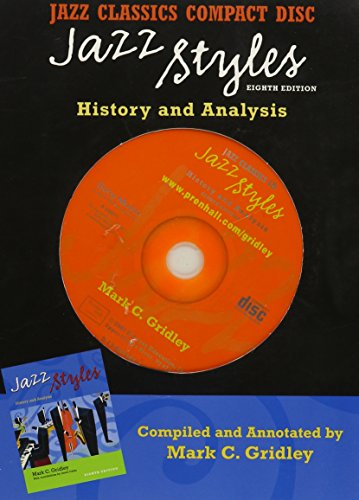 9780130993489: Jazz Styles: History And Analysis
