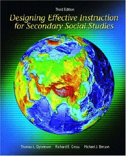 9780130994110: Designing Effective Instruction for Secondary Social Studies (3rd Edition)