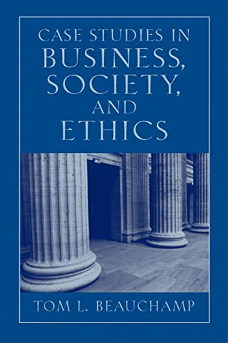9780130994356: Case Studies in Business, Society and Ethics