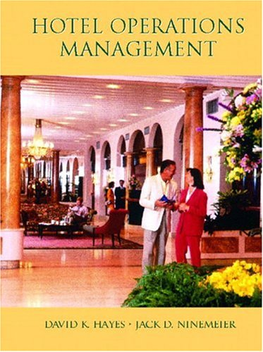 9780130995988: Hotel Operations Management