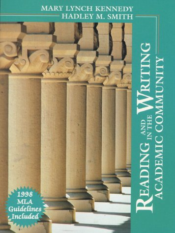 9780130996534: Reading Writing Academic Comm MLA 99