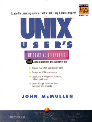 9780130998200: UNIX Users Interactive Workbook