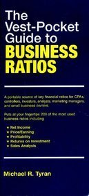 9780130998316: The Vest Pocket Guide to Business Ratios: DM Version