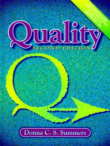 9780130999245: Quality (2nd Edition)