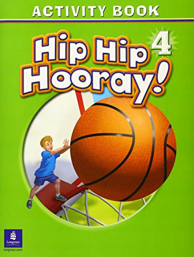 9780131001022: Hip Hip Hooray Student Book (with practice pages), Level 4 Activity Book (without Audio CD)