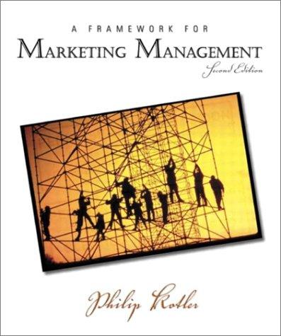 9780131001176: Framework for Marketing Management, A (2nd Edition)