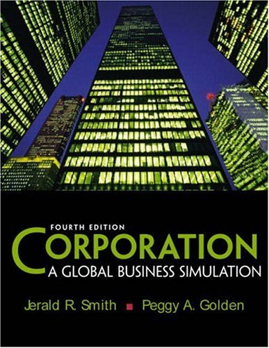 9780131001435: Corporation: A Global Business Simulation (4th Edition)