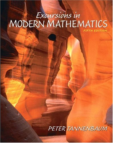 Amazon. Com: excursions in modern mathematics student solutions.