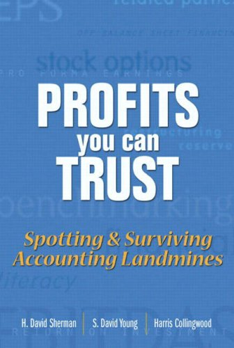 9780131001961: Profits You Can Trust: Spotting and Surviving Accounting Landmines