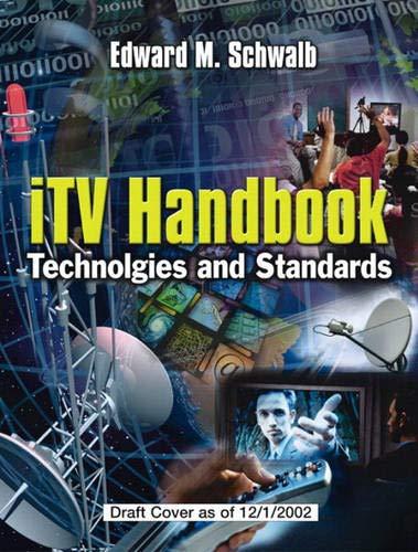 9780131003125: ITV Handbook: Technologies and Standards
