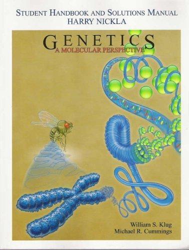 9780131005105: Genetics: Molecular Perspective