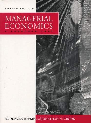 9780131005204: Managerial Economics (4th Edition)