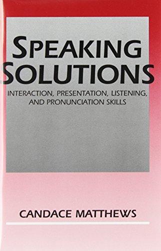 SPEAKING SOLUTION SET 2 CASS: MATTHEWS