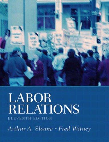 9780131006829: Labor Relations