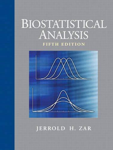 9780131008465: Biostatistical Analysis (5th Edition)