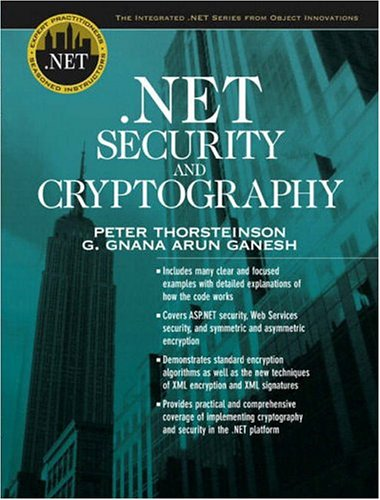 9780131008519: .NET Security and Cryptography (The Integrated .NET Series from Object Innovations)
