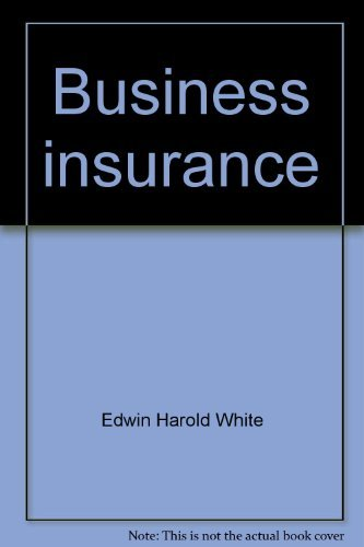 9780131008595: Business insurance