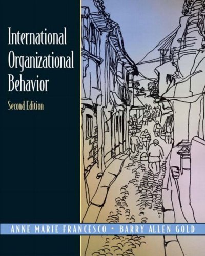9780131008793: International Organizational Behavior