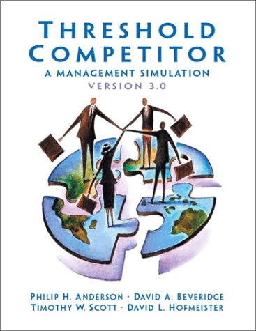 9780131010277: Threshold Competitor: A Management Simulation