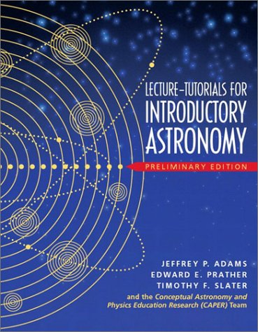 9780131011090: Lecture Tutorials for Introductory Astronomy - Preliminary Version