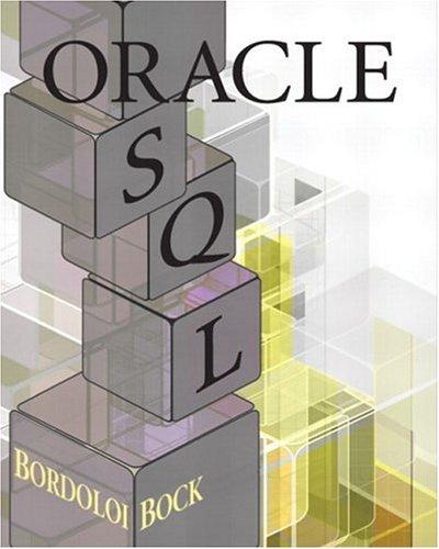 Oracle SQL: Douglas Brian Bock;