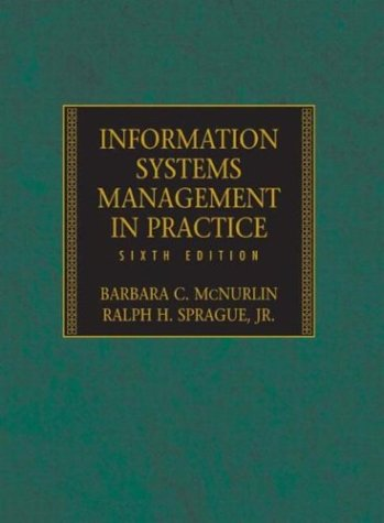 9780131011397: Information Systems Management in Practice, Sixth Edition