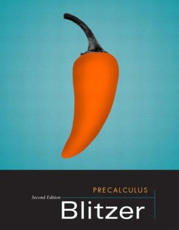 9780131013643: Precalculus, Second Edition