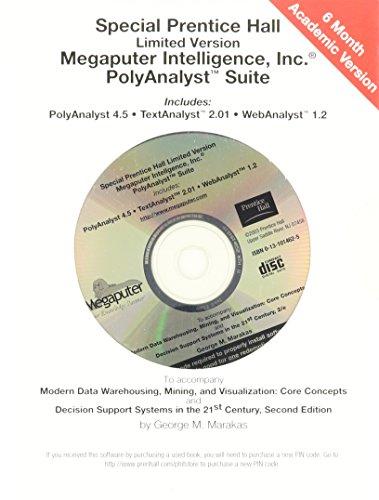 9780131014626: Megaputer Software Suite CD-ROM
