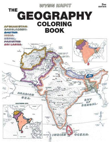 9780131014725: Geography Coloring Book (3rd Edition)