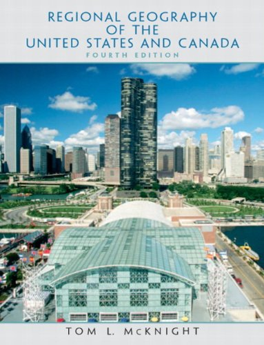9780131014732: Regional Geography of the United States and Canada (4th Edition)