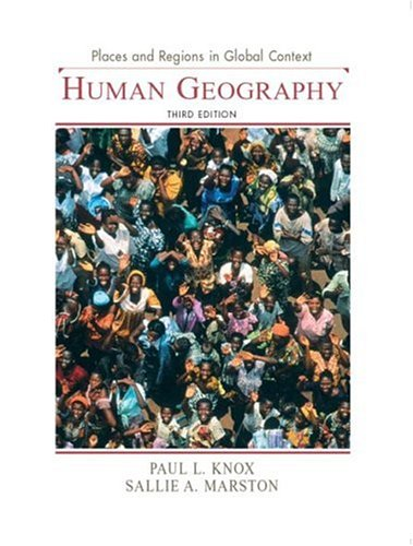 9780131015180: Places and Regions in Global Context: Human Geography, 3rd Edition