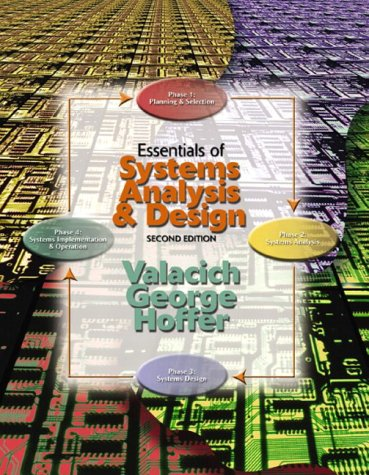 9780131016057: Essentials of Systems Analysis and Design, Second Edition