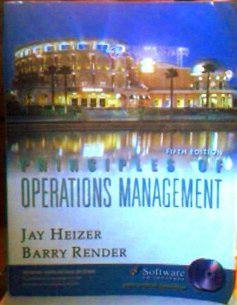 9780131016132: Principles of Operations Management: United States Edition