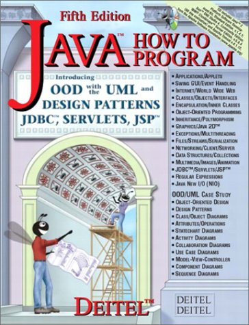 9780131016217: Java How to Program, Fifth Edition