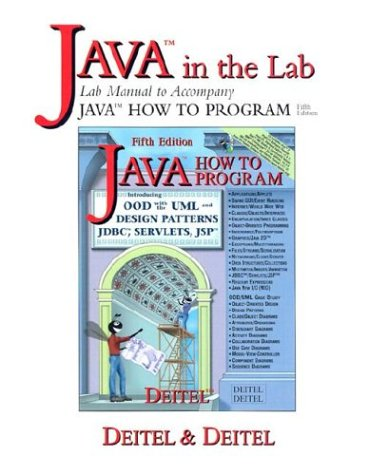 9780131016316: Java How to Program Lab Manual (5th Edition)