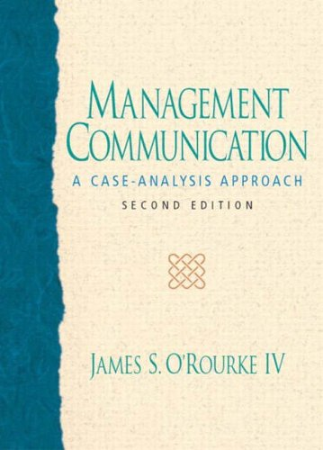 9780131016446: Management Communication