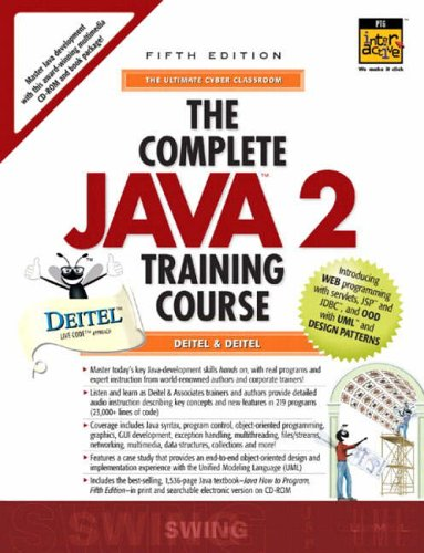 9780131017665: Complete Java Training Course (Prentice Hall PTR Interactive)