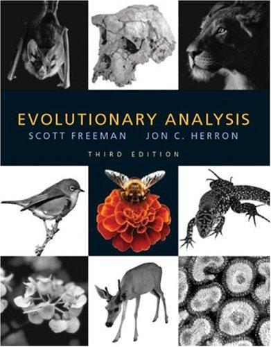 9780131018594: Evolutionary Analysis