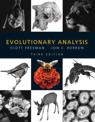 9780131018594: Evolutionary Analysis