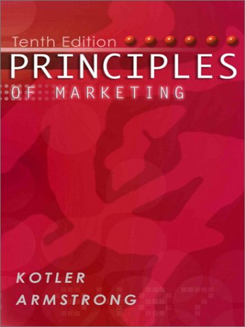 9780131018617: Principles of Marketing: Instructors Edition