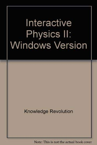 9780131018662: Interactive Physics: Windows Version/Book and 2 Disks