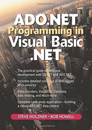 9780131018815: ADO.NET Programming in Visual Basic .NET (2nd Edition)