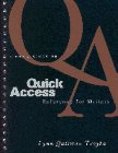 9780131018822: Quick Access Reference for Writers