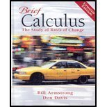 9780131019874: Brief Calculus: The Study of Rates of Change Updated Edition