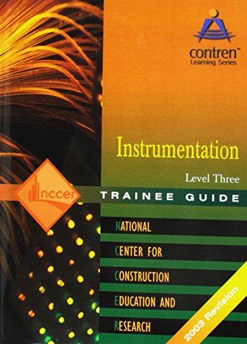 Instrumentation: Trainee Guide Level 3: Nccer