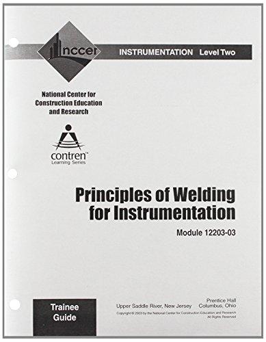 9780131032668: 12203-03 Principles of Welding for Instrumentation TG