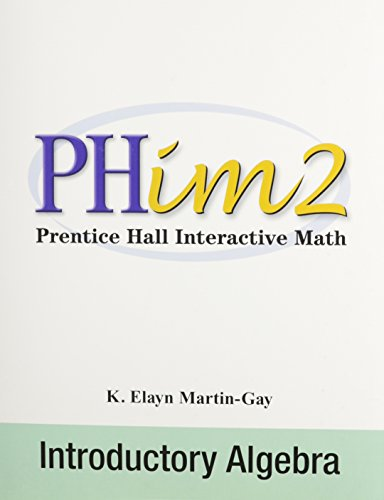 9780131035546: Prentice Hall Interactive Math 2: Introductory Algebra, Second Edition