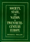 9780131038219: Society, State and Nation in Twentieth-Century Europe